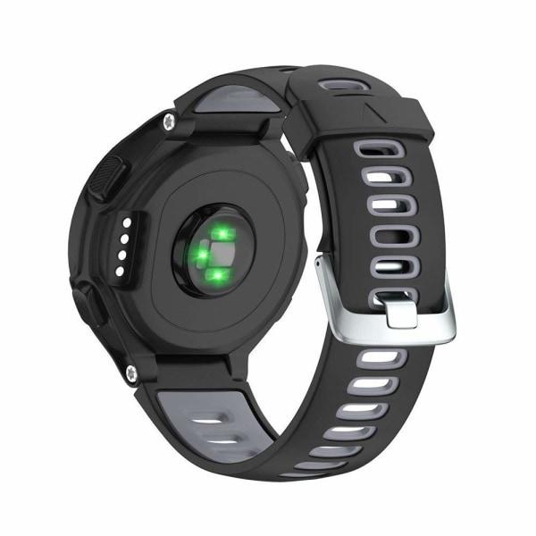 Garmin Forerunner 220/230/235/620/630/735XT armband Svart/Grå