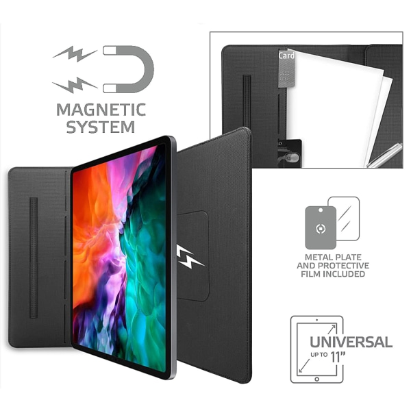 """Universal Magnetic tablet case max 11"""""""