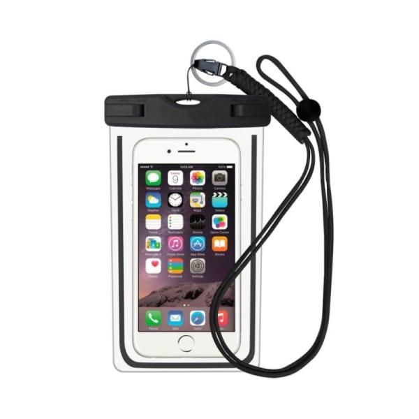 Vattentät mobilväska för smartphone - universalstorlek - svar