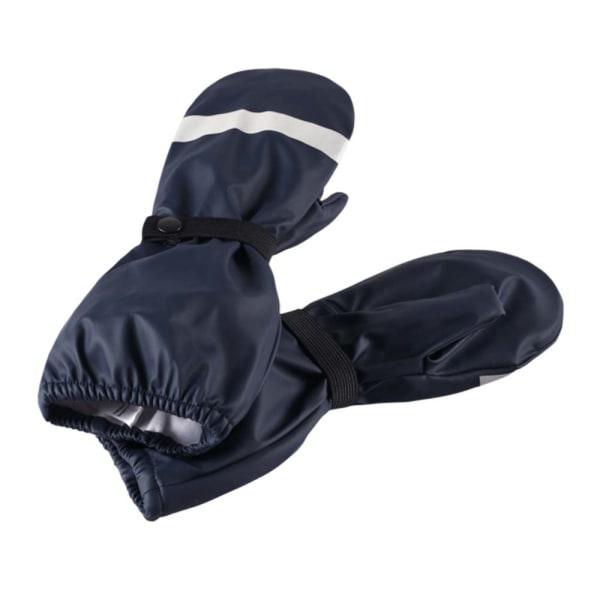 Reima regnvantar galonvantar barn  Puro Mörkblå strl 1 6-18 mån Blå one size