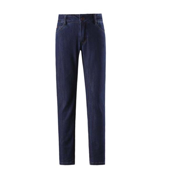 Reima Zeil jeans med stretch kvalitetsjeans strl 134 Denimblå
