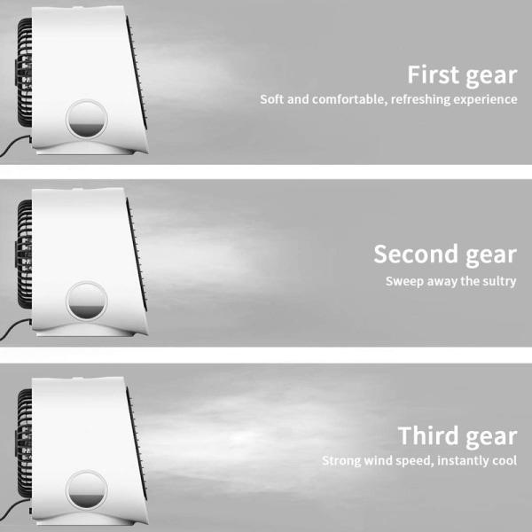 Luftkylare / Fläkt - Ultra Cooler nattlampa, 3 hastigheter