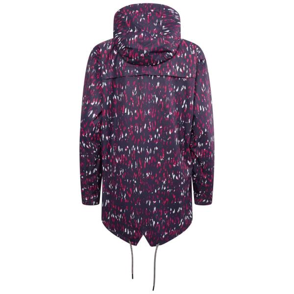 Dare 2B Dam/Ladies Deviation II Leopard Print Jacket 12 UK Ac Active Pink 12 UK