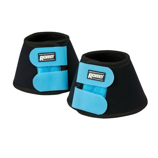 Roma Neopren Bell Boots II Full Black/Blue Black/Blue Full