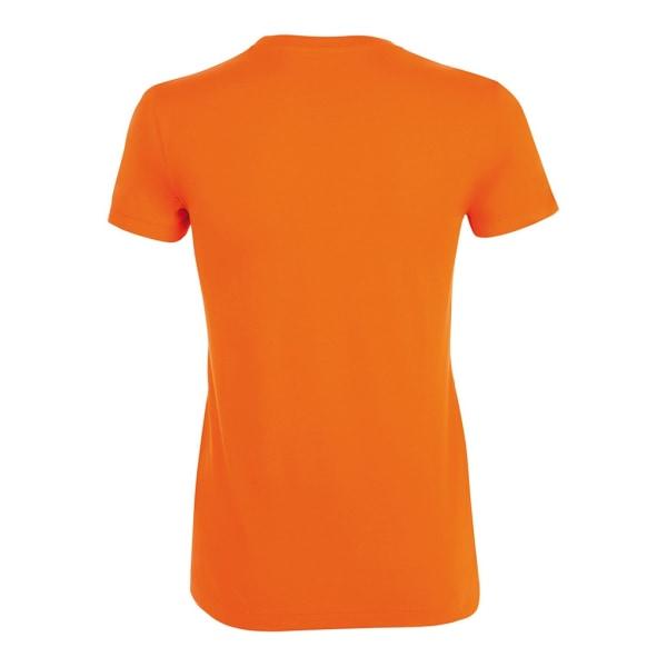SOLS Kvinnor / damer Regent kortärmad T-shirt 3XL Orange Orange 3XL