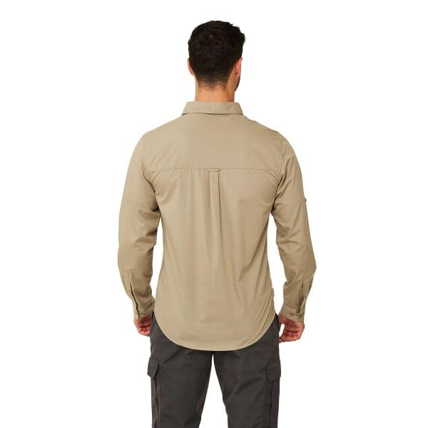 Craghoppers Mens Kiwi Boulder Långärmad tröja XL Rubble Rubble XL