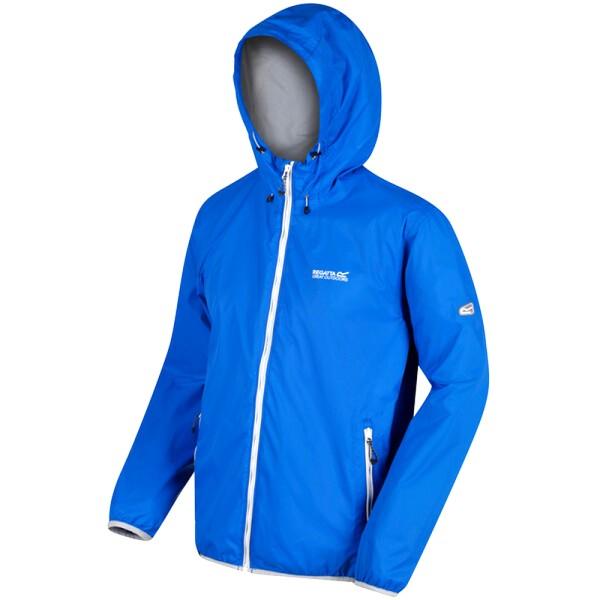 Regatta Mens Lyle IV Waterproof Hooded Jacket XXL Oxford Blue Oxford Blue XXL