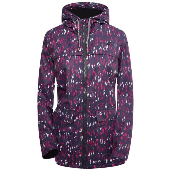 Dare 2B Jacka för leopardmönster för kvinnor / damer Deviation I Active Pink 16 UK