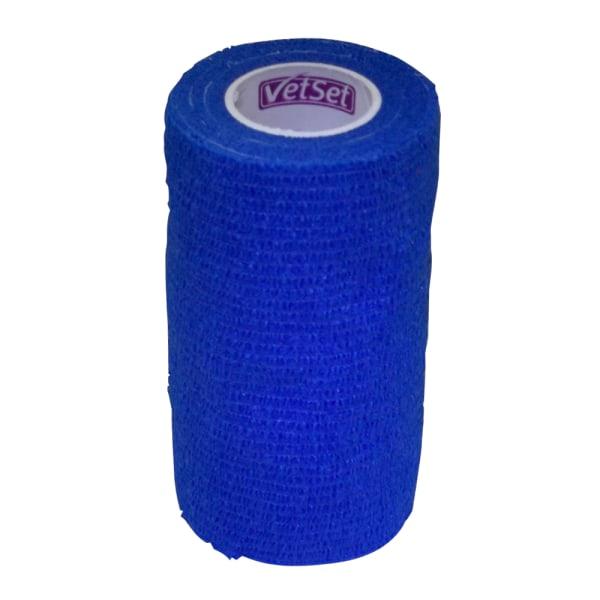 WrapTec sammanhängande bandage 100mm blå Blue 100mm