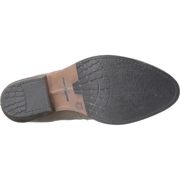 Hush Puppies Womens / Ladies Leather Isla Zip Up Ankle Boot 3 UK K Khaki 3 UK