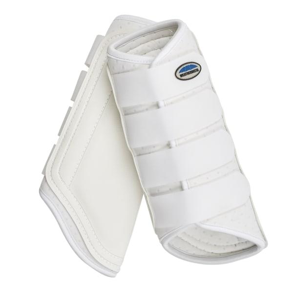 Weatherbeeta Single Lock Brushing Boots Cob White White Cob