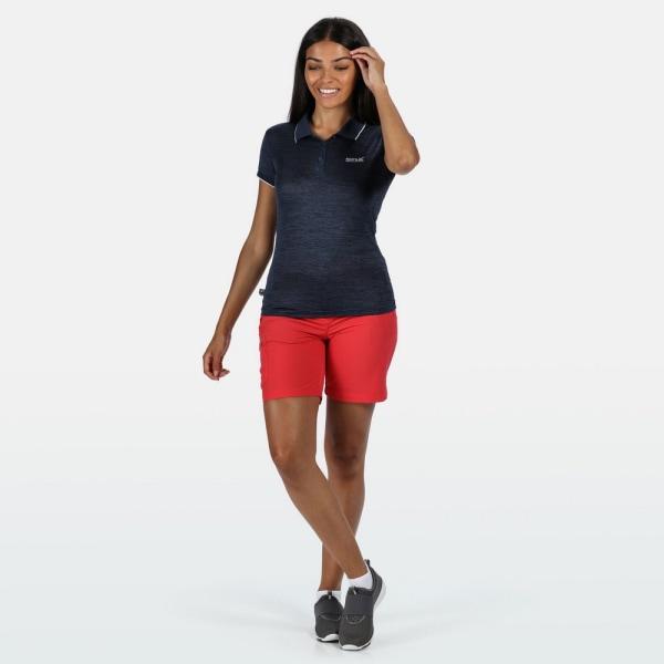 Regatta Remex II T-shirt med poloshalsar för damer/damer 12 UK Dark Deni Dark Denim 12 UK