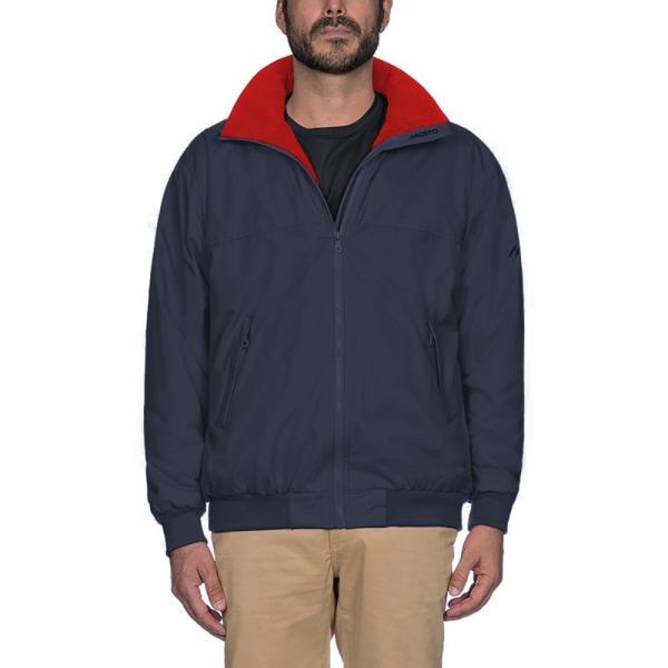 Musto Mens Snug Blouson II Showerproof Jacket S True Navy / True R True Navy/True Red S