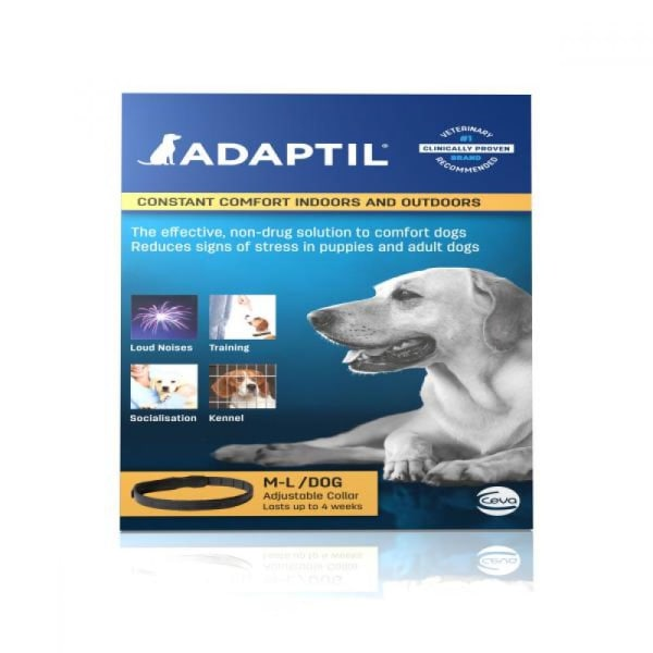 Adaptil Calming Dog Collar Medium/Large Dog Kan variera May Vary Medium/Large Dog