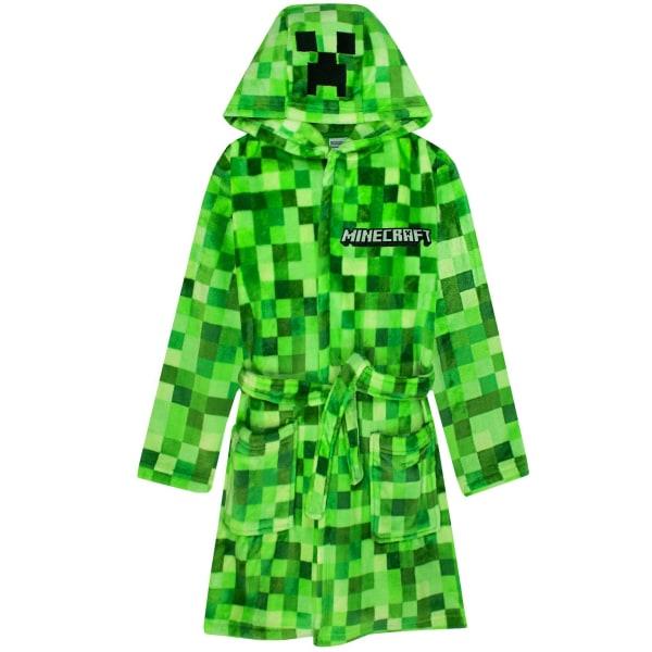 Minecraft Boys Creeper Pixel morgonrock 11-12 år grön Green 11-12 Years