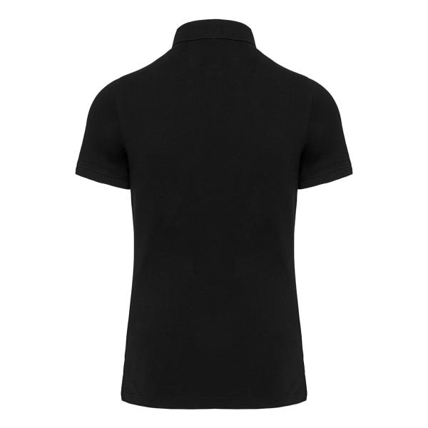 Kariban Vuxna Unisex pikétröja Piqué XL Svart Black XL