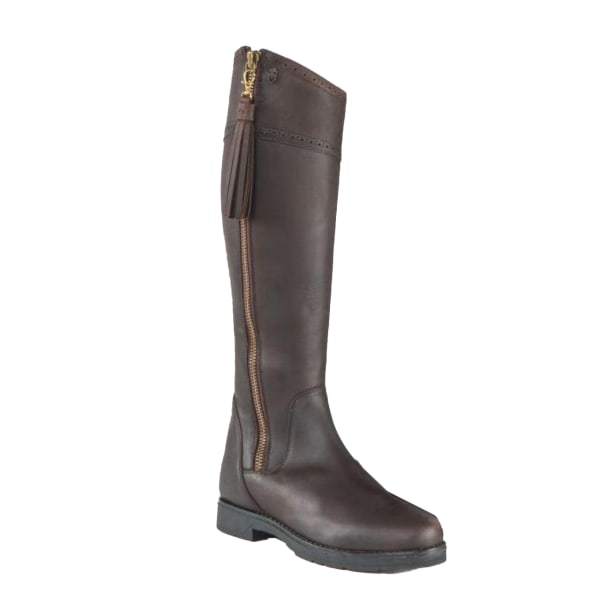 Moretta Womens/Ladies Alessandra Leather Country Boots 7 UK Stan Chocolate Brown 7 UK Standard