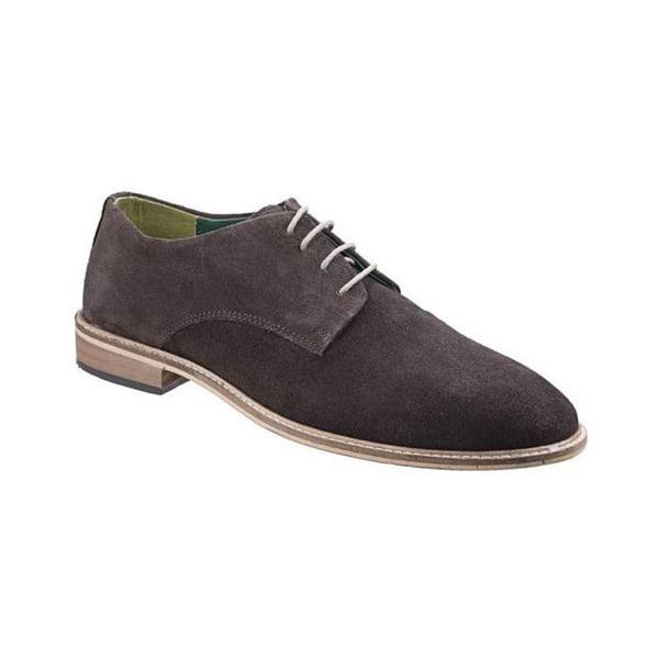 Lambretta Scotts Derby Lace Up Shoes 7 UK Mörkbrun mocka Dark Brown Suede 7 UK