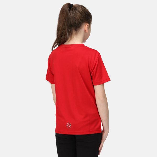 Regatta Activewear Torino T-shirt barn 11-12 år klassisk röd Classic Red 11-12 Years