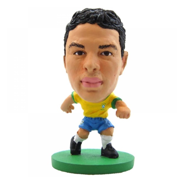 Brasil SoccerStarz Silva Figur 2 i mångfärgad Multicoloured 2in