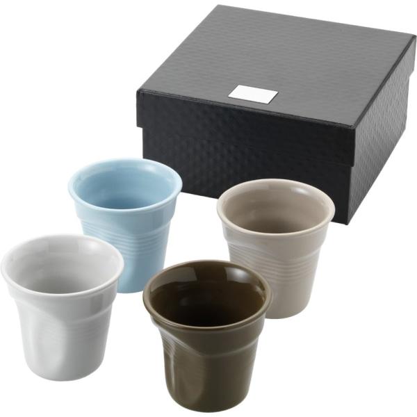 Seasons Milano 4-delad espressosats 13,9 x 13,9 x 7 cm Multi-Col Multi-Colour 13.9 x 13.9 x 7 cm