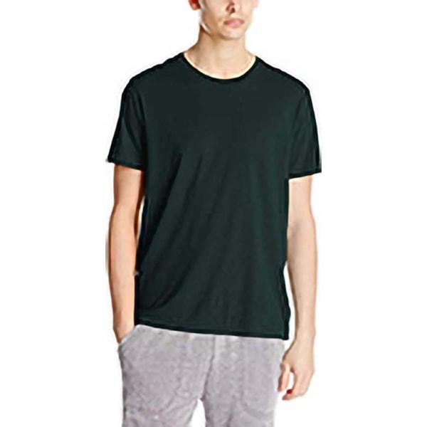 Alternative Apparel Organic Crew T-shirt för män M True Black True Black M
