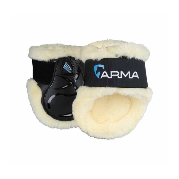 ARMA Carbon SupaFleece Horse Fetlock Boots Full Black