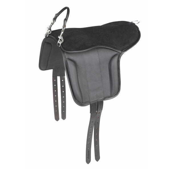 Aviemore läder ponny sadelplatta One Size Black