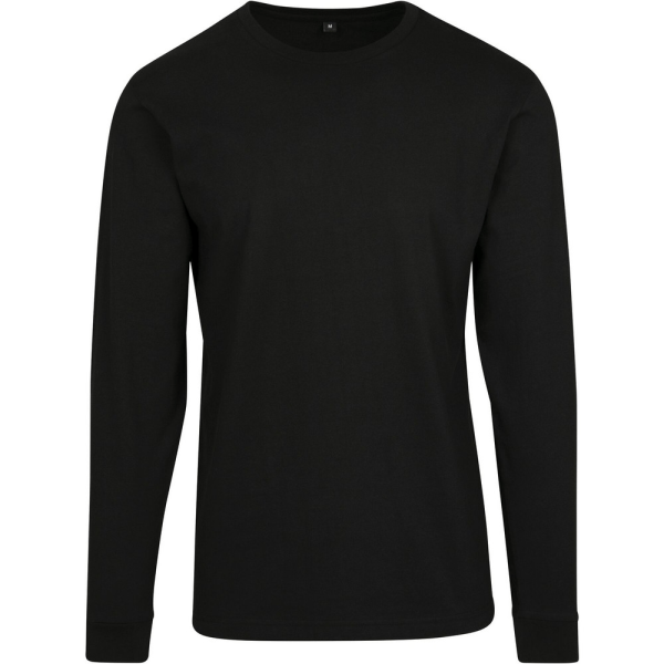 Build Your Brand Mens långärmad tröja L Svart Black L