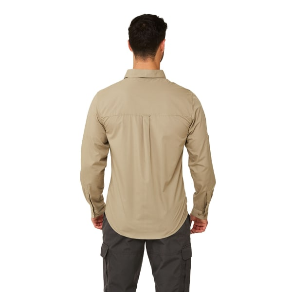 Craghoppers Mens Kiwi Boulder Långärmad tröja XL Rubble