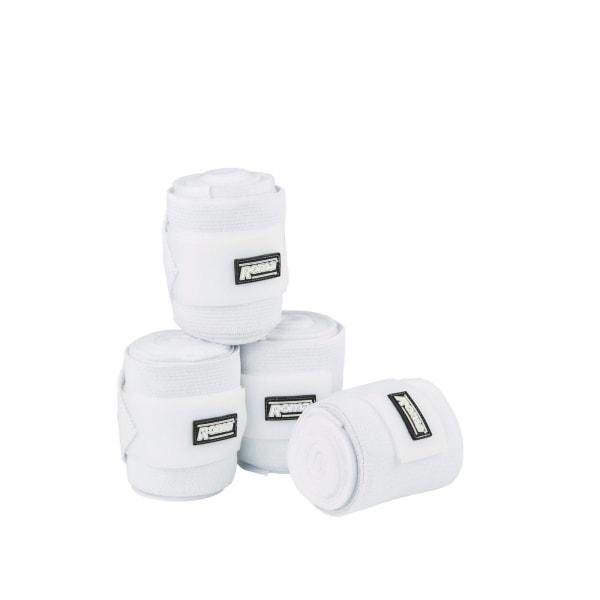 Roma Elastisk Fleece Combi Bandage 3m Vit White 3m