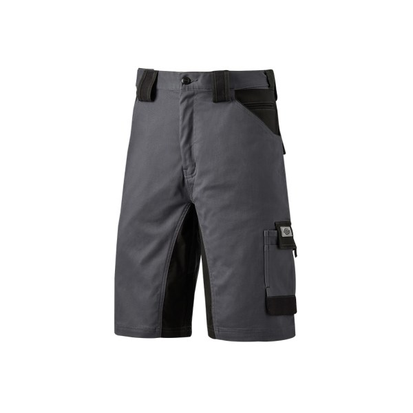 Dickies Vuxna Unisex GDT Premium Shorts 40R Grå / Svart