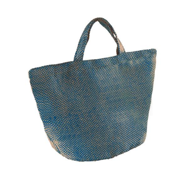 Kimood Jute-väska för damer / damer (förpackning med 2) One Size Natur Natural/Ink Blue One Size