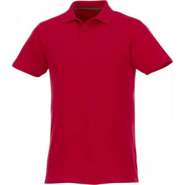 Elevate Mens Helios kortärmad pikétröja 5XL röd Red 5XL
