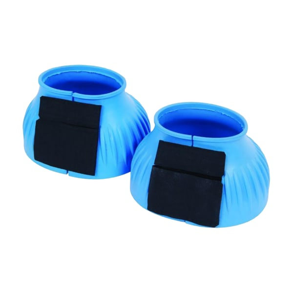 Saxon Ribbed Touch Tape Bell Stövlar Ponny Ljusblå Light Blue Pony
