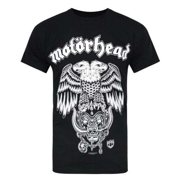 Motorhead Mens Hiro Double Eagle T-shirt L Svart Black L