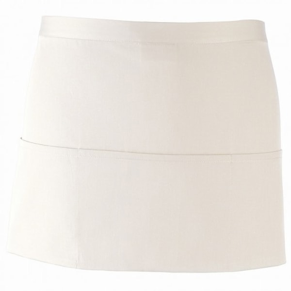 Premier Ladies / Womens Colors 3 Pocket Apron / Workwear (Pack of White One Size