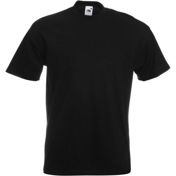 Fruit of the Loom Herr Premium T-shirt med kort ärm Crew Neck 4X