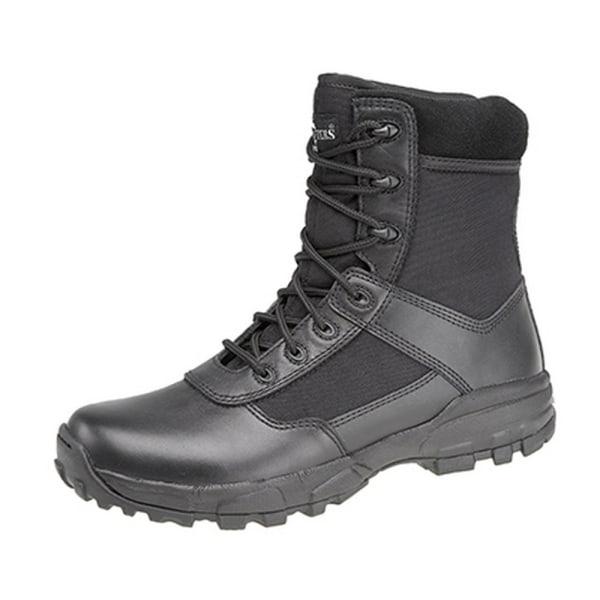 Grafters Herr Stealth II Icke-metall lätta Combat Boots 10 UK Sv Black 10 UK