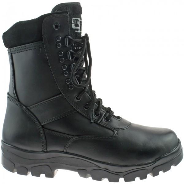 Grafters Top Top Gun Thinsulate Fodrade Combat Boots 11 UK Svart Black 11 UK