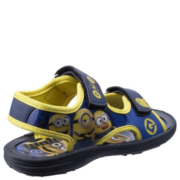 Leomil Kids / Childrens Minions Touch Fastening Sandal 8 UK Child
