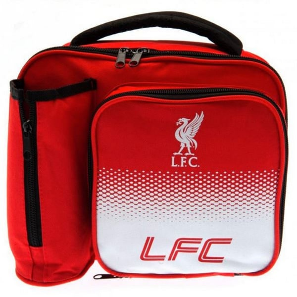 Liverpool FC Fade Lunch Bag One Size Röd vit