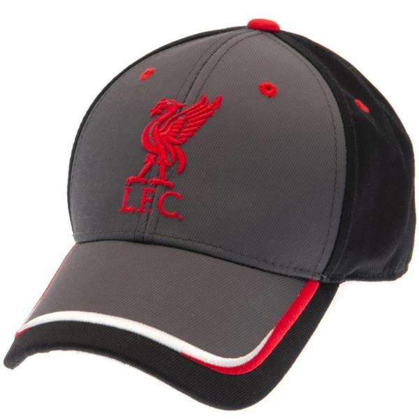 Liverpool FC Unisex Magnesiumkeps för vuxna One Size Dark Grey / Black