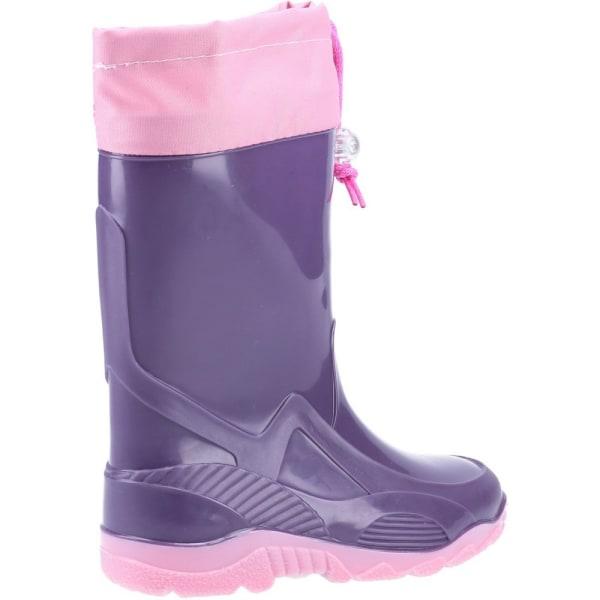 Mirak Splash Barns varmfodrad stövel / tjejer vattentäta stövlar Lilac 31 EUR