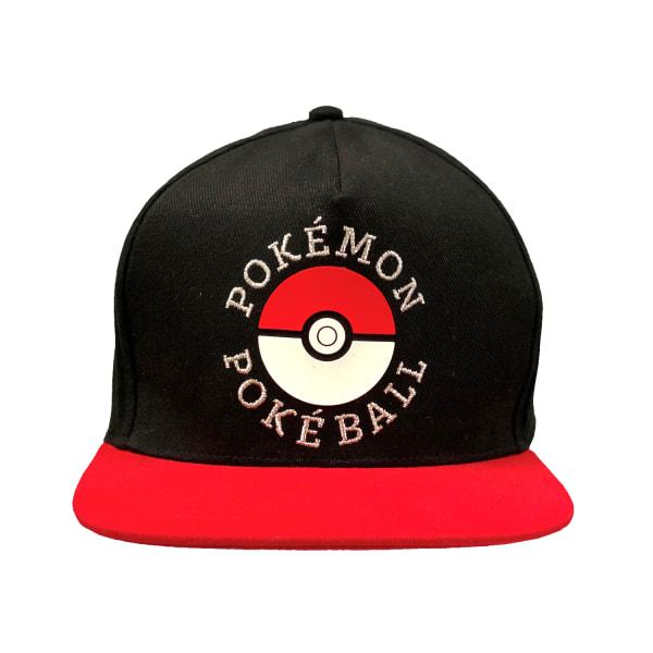 Pokemon Trainer Snapback-keps One Size Black