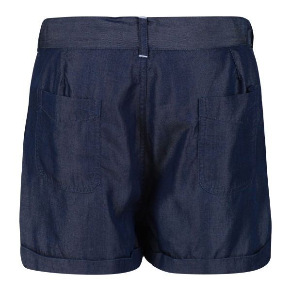Regatta Girls Delicia Casual Shorts 7-8 Years Chambray