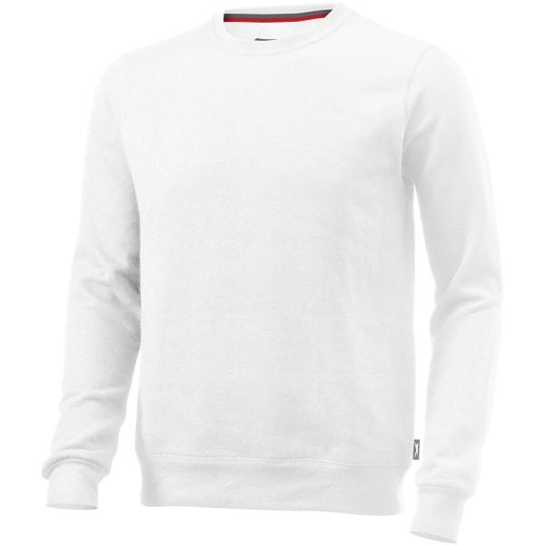 Slazenger Herr Toss Crew Neck tröja M Vit