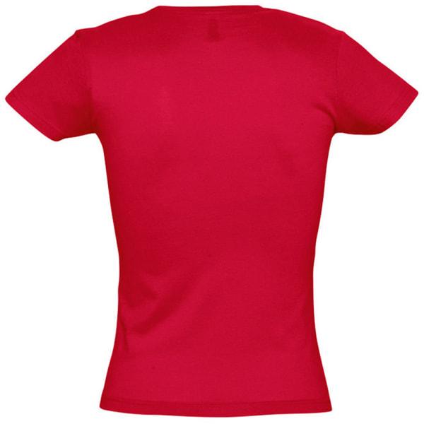 SOLS Kvinnor / damer Miss kortärmad T-shirt L Röd Red L