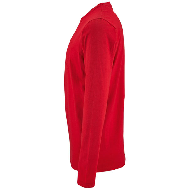 SOLS Mens Imperial Långärmad T-shirt M Röd Red M