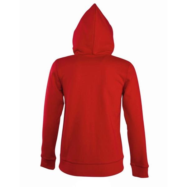 SOLS Kvinnor / Ladies Seven Full Zip Hooded Sweatshirt / Hoodie MR